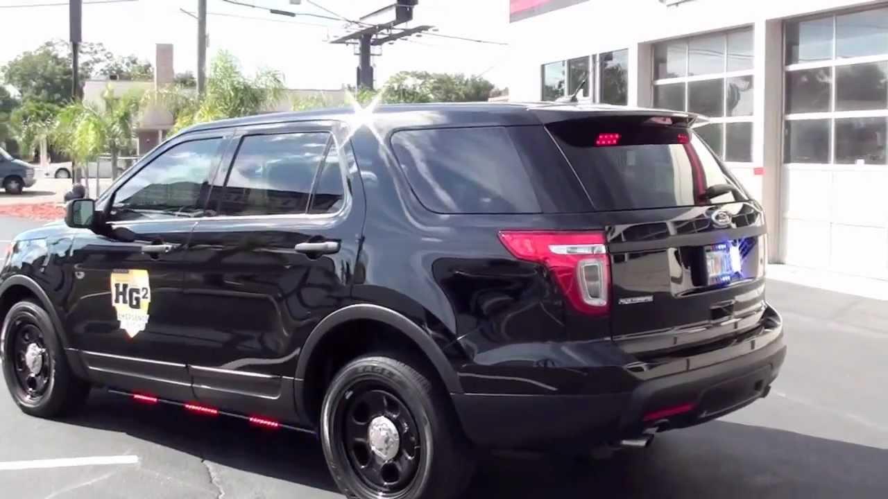 HG2 Emergency Lighting 2013 Ford Explorer Interceptor SUV ...