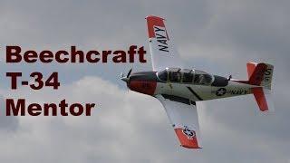 Beechcraft T-34B Mentor, Airshow Chotebor 2017