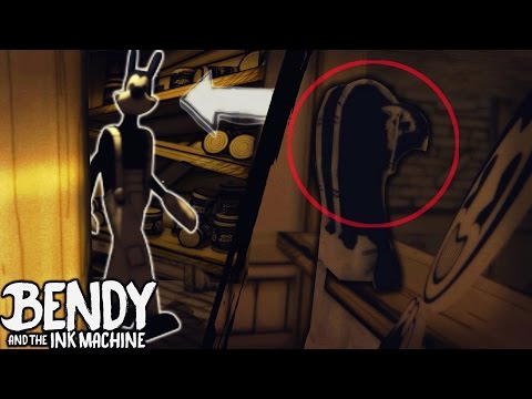 NOCLIP BEHIND BORIS & TELEPORT CHEATS | Bendy and the Ink Machine [Chapter 1 & 2] Glitches