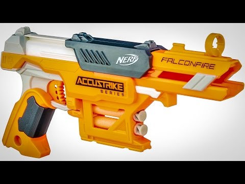NERF N-STRIKE ELITE ACCUSTRIKE FALCONFIRE (Unboxing + Review)