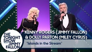 "Download Lagu Jimmy Fallon and Miley Cyrus Recreate Kenny Rogers and Dolly Parton's ""Islands in the Stream"" Gratis STAFABAND"