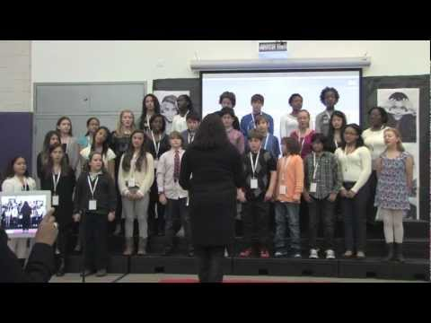 The School at Columbia University's Concert Choir led by Rachel Klem at TEDxYouth@TheSchool