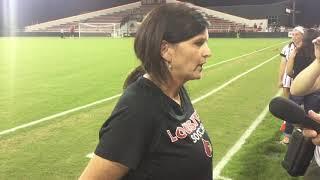 WSOC: Head Coach Karen Ferguson-Dayes Notre Dame post-game interview