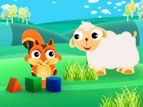 Cartoon Squirrel Animation For Babies video