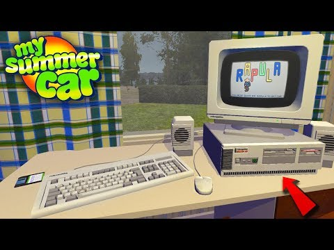 My Summer Car - BOUGHT A COMPUTER (HUGE UPDATE)
