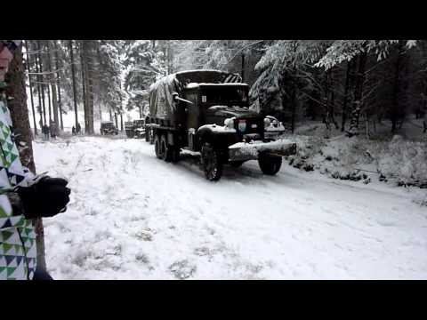 Reenactement winter Ardennen 2015
