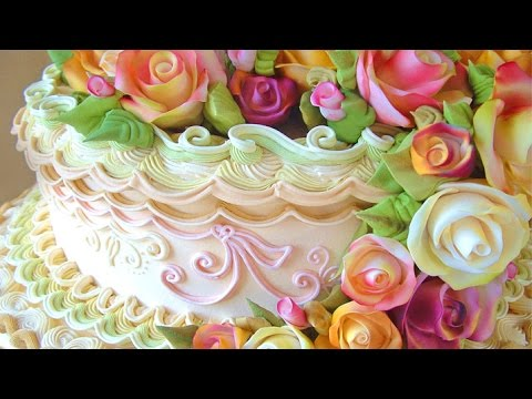 Information On David Cakes International Free Hand Cake Decorating Classes &amp  Courses