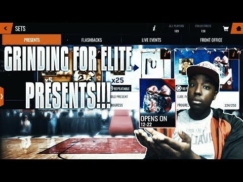 GRINDING FOR ELITE PRESENTS WITHOUT SPENDING MONEY!!! ROAD TO THE TOP NBA LIVE MOBILE 18 EP. 18!!!