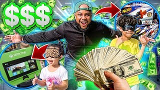 24 HOURS Buying EVERYTHiNG My Kids Touch! *BAD IDEA*