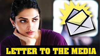Deepika Padukones SHOCKING LETTER to the media on Cleavage CONTROVERSY