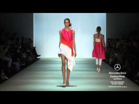 YOUSEF AKBAR: MERCEDES-BENZ FASHION WEEK AUSTRALIA SS 2014/2015
