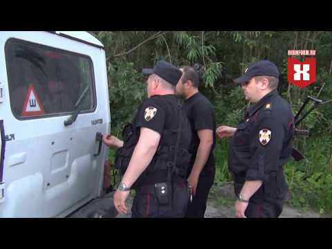Погоня за пьяным водителем 9 июля