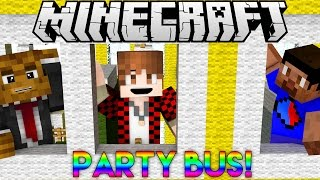 Minecraft: ALL ABOARD THE PARTY BUS! PARTY GAMES #6 w/Bajan Canadian, Vikkstar123 and JeromeASF