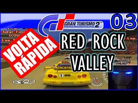 Gran Turismo 2 - DESAFIO VOLTA RÁPIDA #3 - RED ROCK VALLEY - Daniel Games