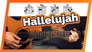 Download Lagu Hallelujah - Jeff Buckley - Guitar Tutorial (Lesson) For Beginners Gratis STAFABAND