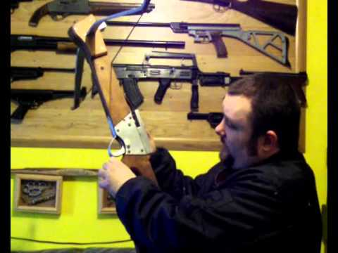 Making a homemade Crossbow - Part 8 - Shooting the Crossbow