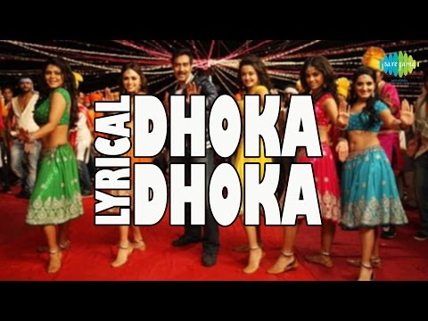 Lyrical: Dhoka Dhoka | Himmatwala | Hindi Video Song | Ajay Devgan, Tamannaah Bhatia video