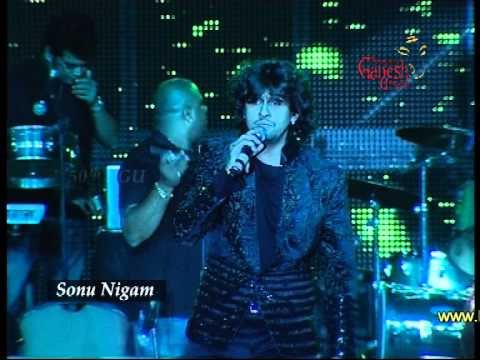 Sonu nigam live at the 50th Bengaluru Ganesh Utsava