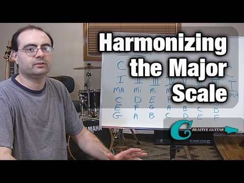 Music Theory - Harmonizing the Major Scale klip izle