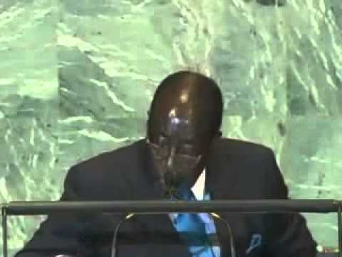 Excellent Speech by President ROBERT MUGABE at the UN G A  Libya )