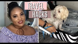 TRAVEL HACKS | HOW TO PACK + PREPARE FOR A TRIP