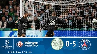 Melhores Momentos - Celtic 0 x 5 PSG - Champions League (12/09/2017)