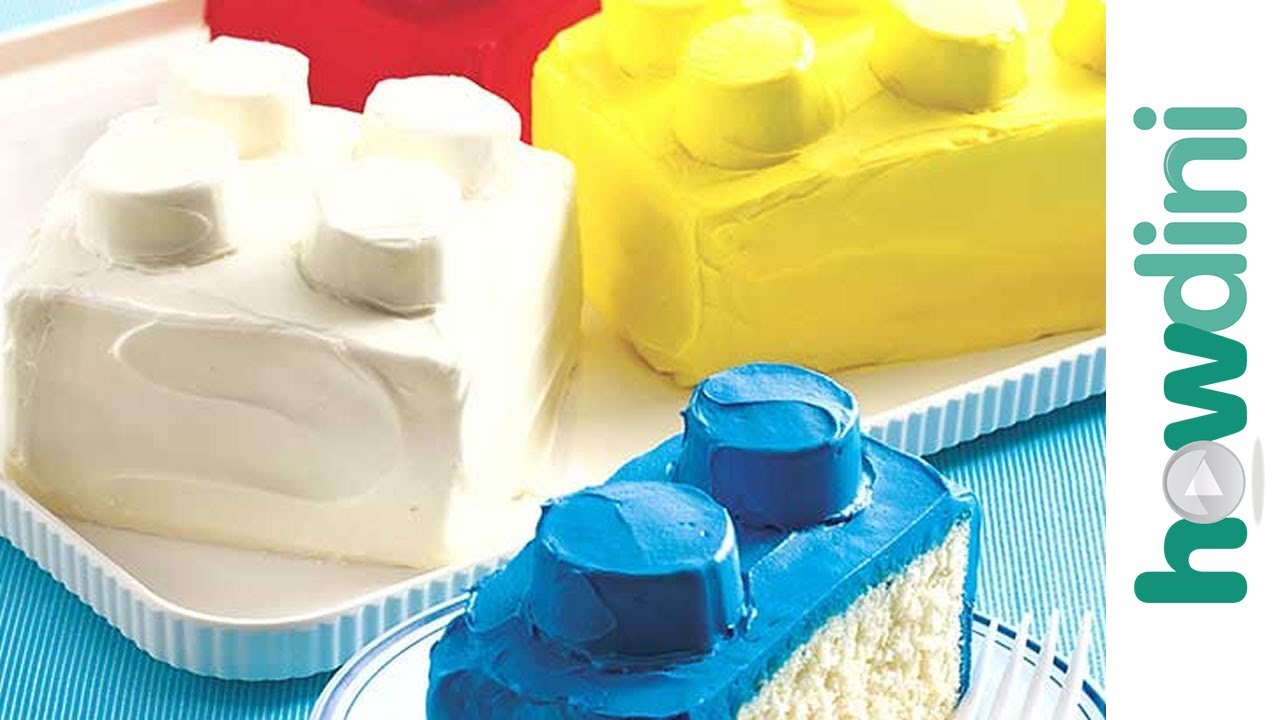 Block Building Cake How To Youtube