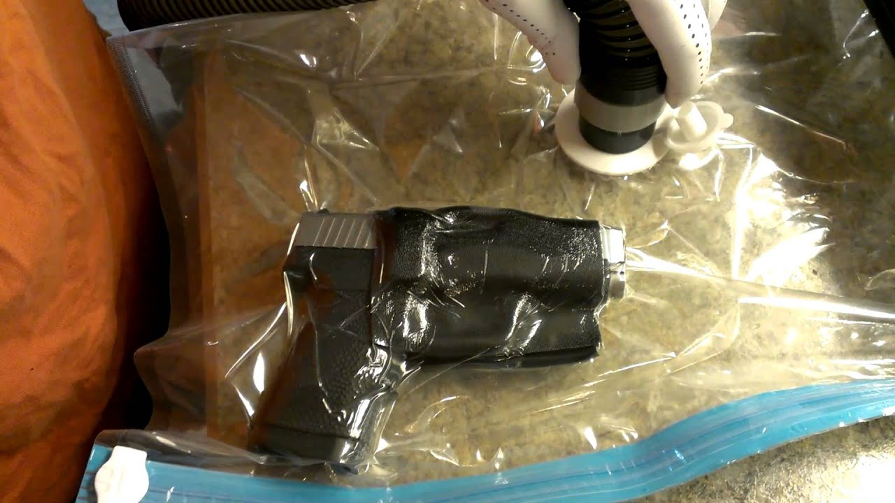 Kydex Forming Holster Using Vacuum Storage Bags Youtube