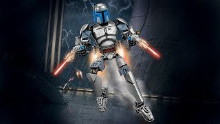 Hướng dẫn lắp ghép xếp hình Star Wars Jango Fett KSZ712-1 (82 Miếng Ghép)