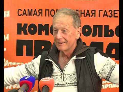 Михаил Задорнов приехал в Ярославль с проповедью