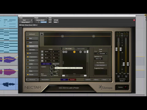 Show & Tell Review Of iZotope Nectar 2 Vocal Suite
