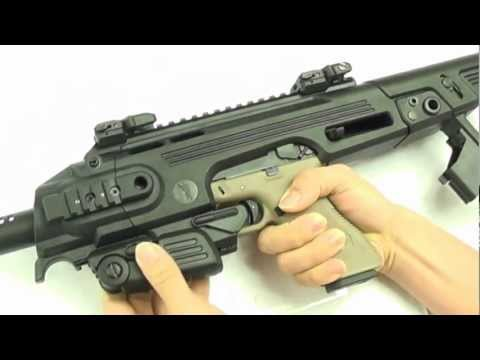 CAA RONI Pistol Carbine Conversion For G-17/18C GBB Airsoft
