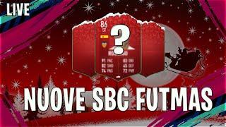 NUOVE SBC FUTMAS LIVE   FIFA 19