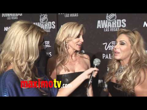 Camille Grammer & Adrienne Maloof Interview at 2011 NHL Awards
