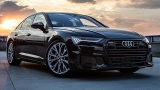 2019 AUDI A6 - NEW LEADER IN CLASS? - 50TDI (286hp/620Nm) - BLACKED OUT (Mythos + black optics)