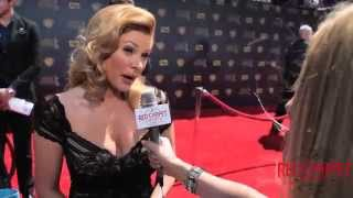 Cady McClain @YandR_CBS  Interviewed at the 42nd Daytime Emmy Awards #DaytimeEmmys