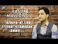 Jasur Mavlonov Bevafo Ni Ijro Etishni Istamagan Ammo Exclusive Intervyu mp3