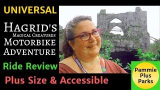 Universal - Hagrids Magical Creature Motorbike Adventure - Ride Review - Plus Size & Accessible