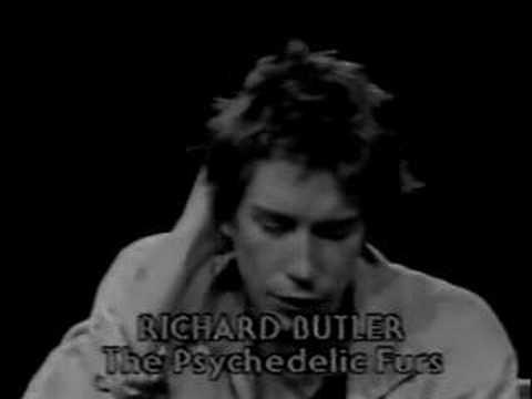 Richard Butler Singer Richard Butler Interview