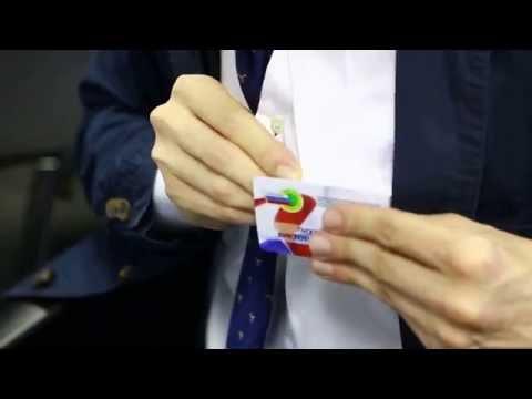 Как сделать бейджик своими руками видео