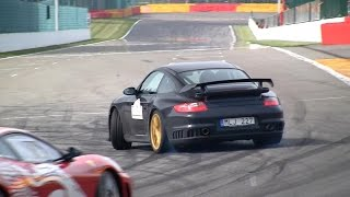 Porsche 997 GT2, 991 GT3 Cup, 996 Turbo Sounds!!