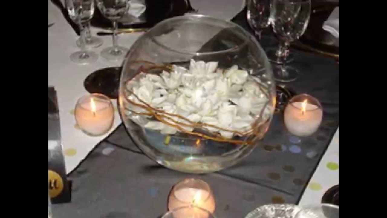 centros de mesa con velas para fiestas de 15 a os youtube. Black Bedroom Furniture Sets. Home Design Ideas