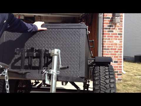 Off-Road Box Trailer Build