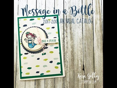 STAMPIN' UP! | Message in a Bottle