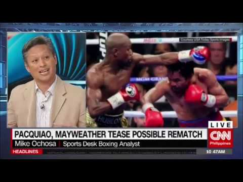 Pacquiao, Mayweather tease possible rematch