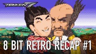 Tekken 7 - PS4/XB1/PC - 8 Bit Retro Recap Part 1 (Story Trailer)