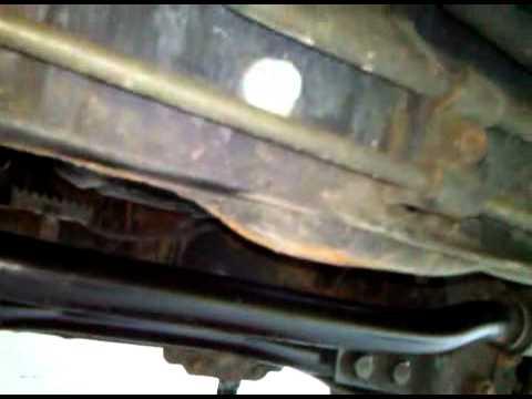 Замена масла в двигателе Mitsubishi Montero Sport, видео