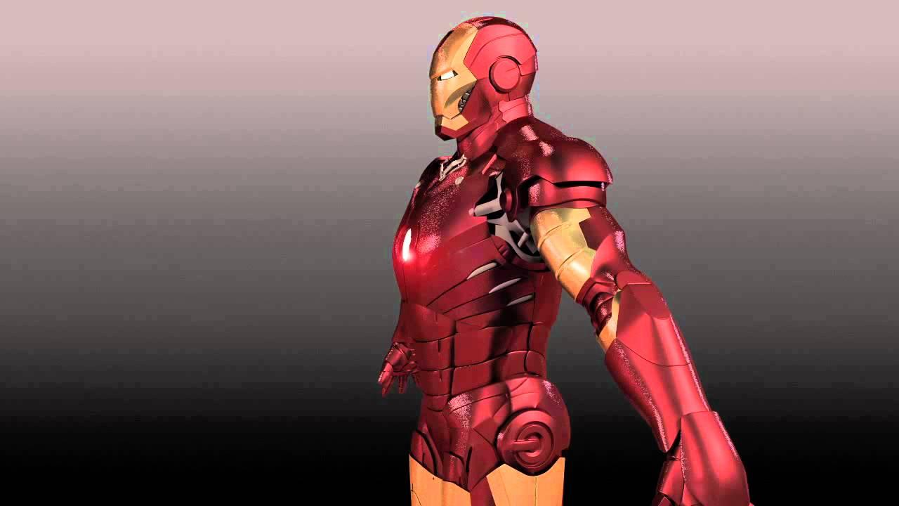 Model Iron Man 3d Iron Man 3d Model Mark Iii