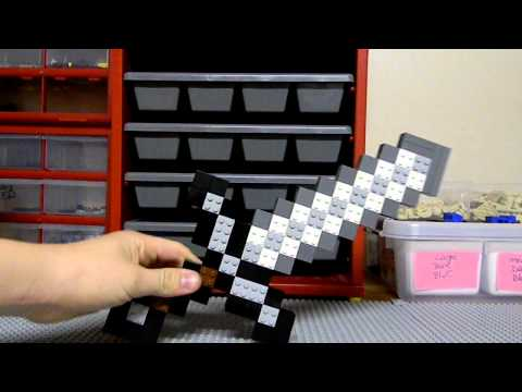LEGO Minecraft Iron Sword
