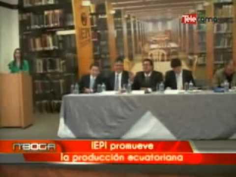 IEPI promueve la producción ecuatoriana